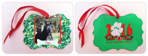 Decorate Christmas 2016 with NCCF Ornaments & Share Love and Memories of Your Beloved Furry Friends