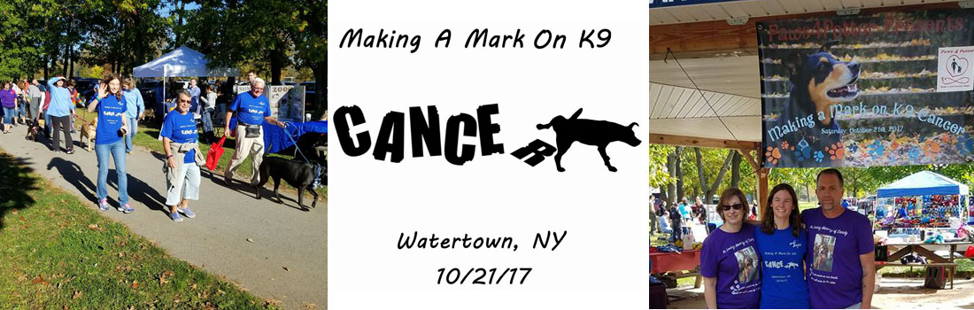 """The 2nd Annual """"Making A Mark On K9 Cancer"""" Dog-Walking Event by Paws4Potter"""