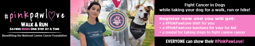 Pink Paw Love Walk And Run 2021