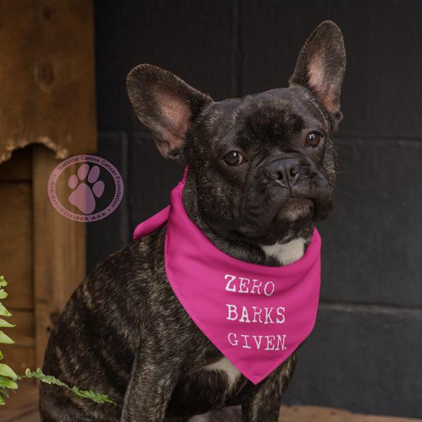 Pink Dog Bandana