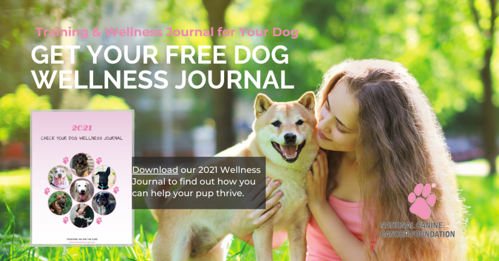 NCCF Dog Planner and Wellness Journal